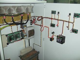 Шкаф управления мини-линией.